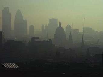 смог в Лондоне