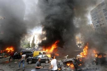В Ираке у здания партии курдов произошел двойной теракт