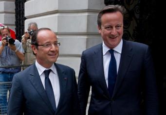 Кэмерон и Олланд