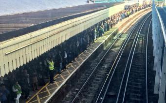 Хаос на вокзале