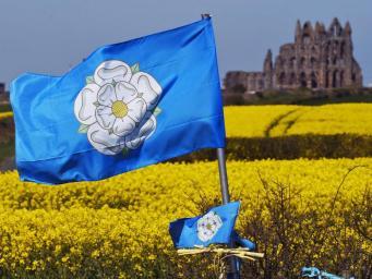 флаг Йоркшира