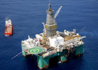 Нефтяная платформа Zebedee