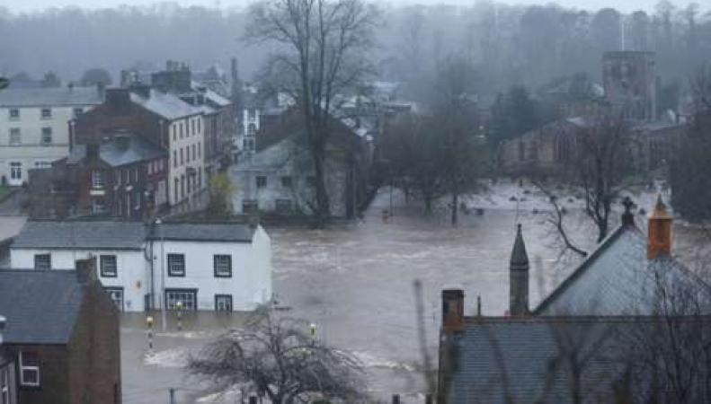 наводнение в Эпплби, Камбрия