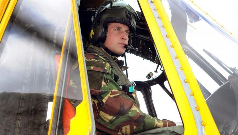 Принц Уильям на вертолёте цель для террористов