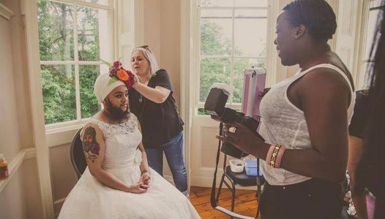 Бородатая невеста меняет взгляд на красоту