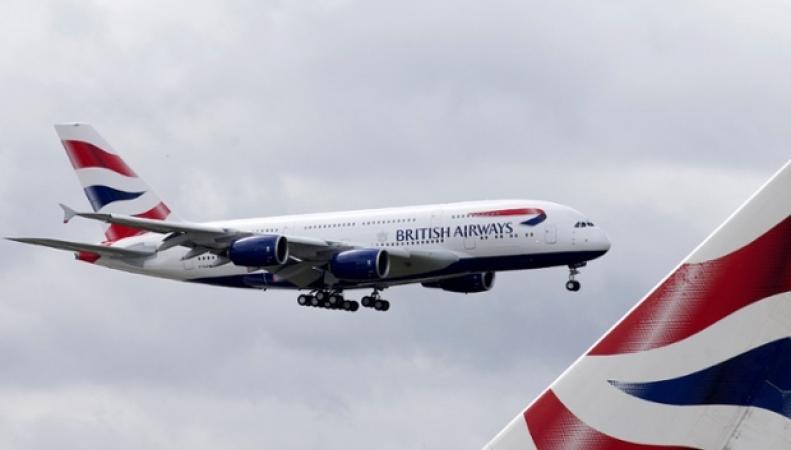 Самолет British Airways