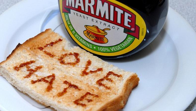 Marmite - любовь и ненависть
