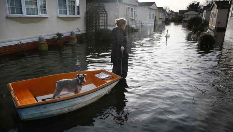 Темза вышла из берегов