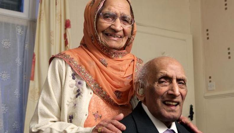 самая старая супружеская пара в мире