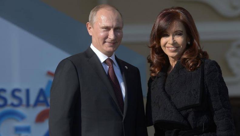 Путин предложил ознаменовать 2015 год перекрестным Годом культуры России и Аргентины