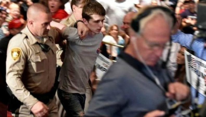 Британец задержан при попытке покушения на Дональда Трампа фото:bbc.com