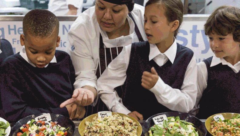 питание в школах