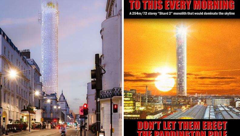 Paddington Place визуализация проекта небоскреба