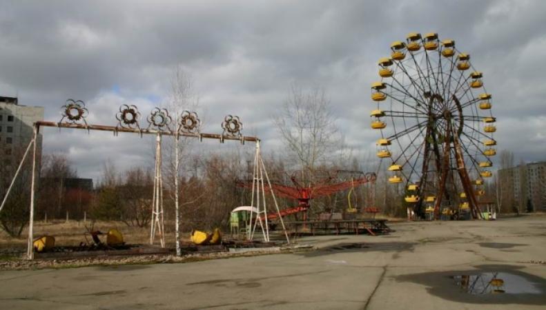 Видео с Чернобылем с высоты птичьего полета набирает популярность