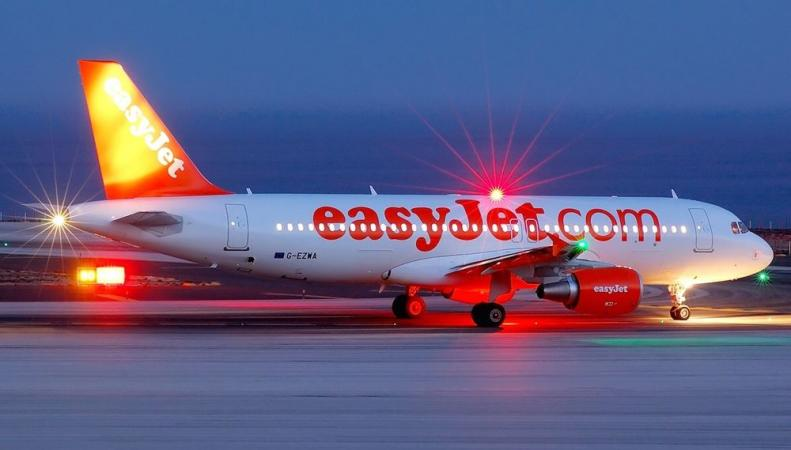 EasyJet прекращает полёты