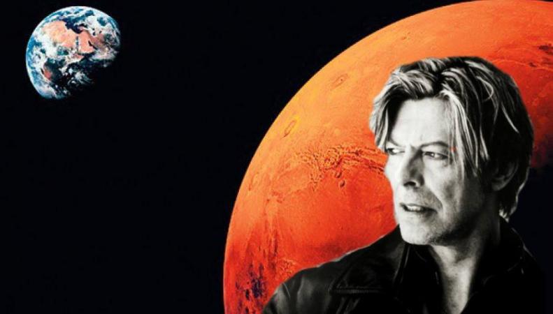 Марс предлагают переименовать в честь Дэвида Боуи