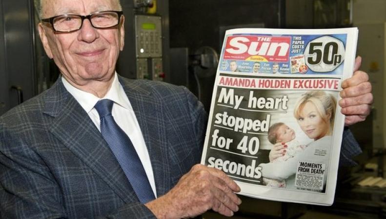 Таблоид Sun впервые за 44 года не публикует фото с девушкой топлесс