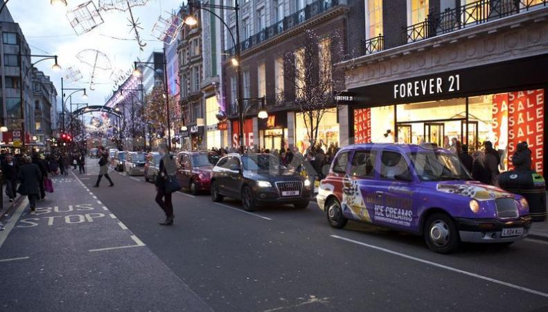 шопинг на Регент-стрит