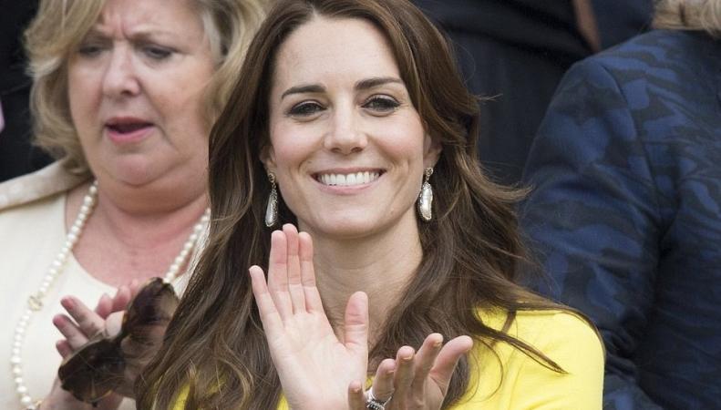Герцогиня Кейт посетила матч Уимблдона в статусе патронессы теннисного чемпионата фото:dailymail.co.uk