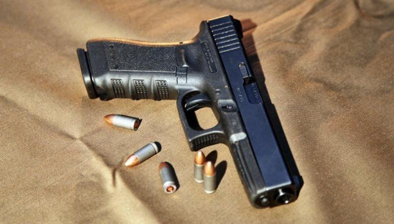 Заряженный пистолет был найден в детском отделе крупного магазина