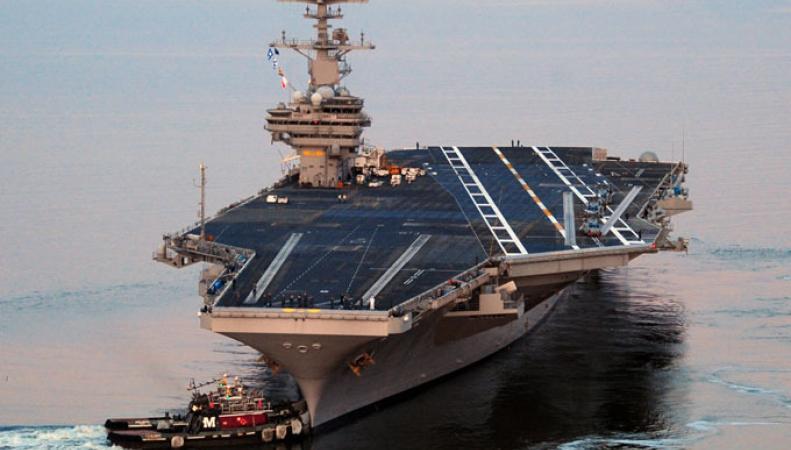 Инженер США арестован за попытку передать секретные чертежи авианосца