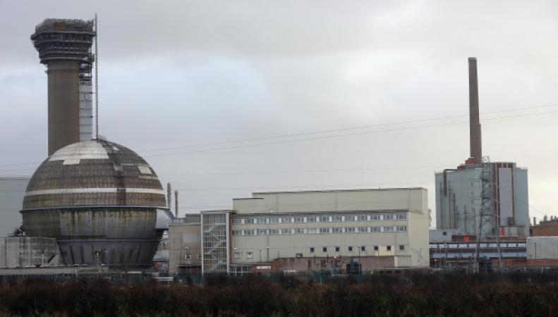 атомная электростанция Селлафилд