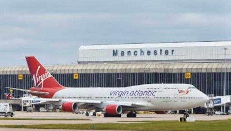 Манчестерский аэропорт был временно закрыт из-за взрыва в туннеле под зданием