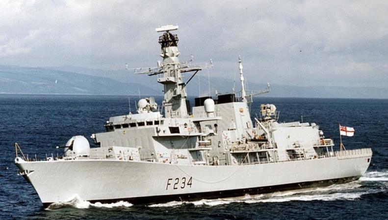 военный корабль HMS Iron Duke