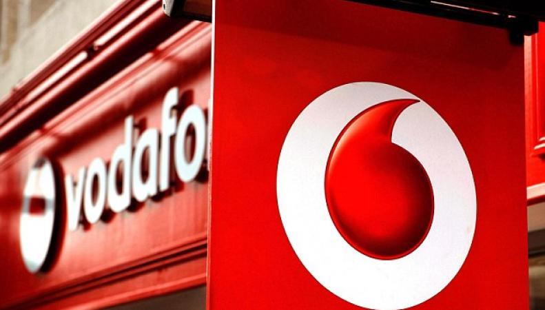 Вывеска Vodafone