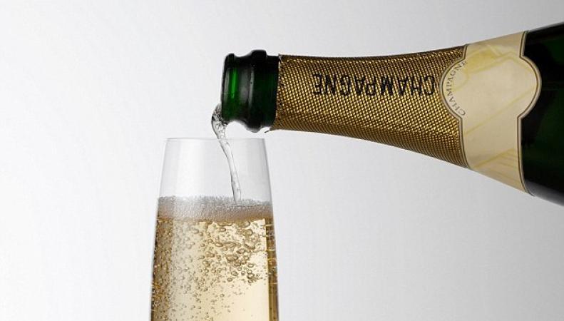 шампанское к Рождеству
