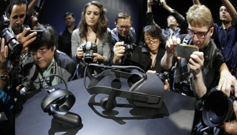 Презентация гарнитуры виртуальной реальности