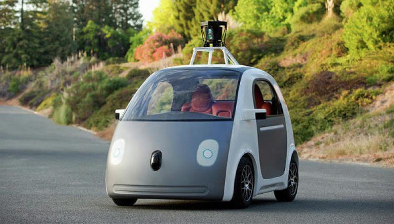 Google представила концепцию самоуправляемого автомобиля