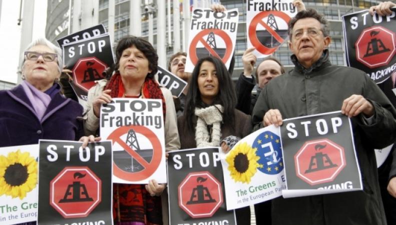 Германия намерена разрешить фрекинг в 2015 году для снижения энергозависимости от России