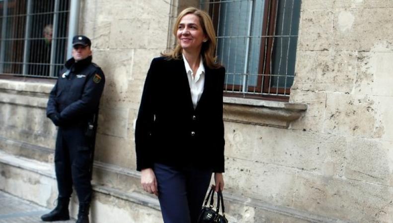 Сестру испанского короля Кристину осудят за мошенничество
