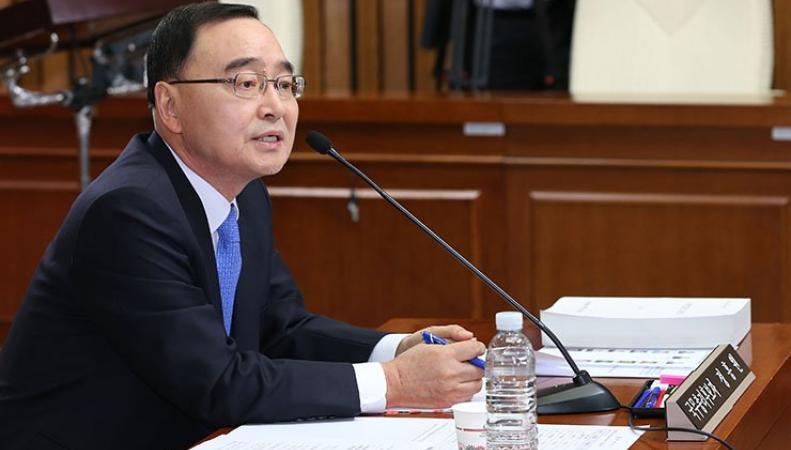 Президент Южной Кореи Пак Кын Хе отказала в отставке премьер-министру Чон Вон Хону