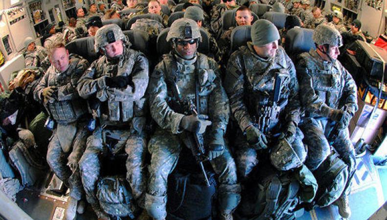 США направили в Ирак дополнительный военный контингент