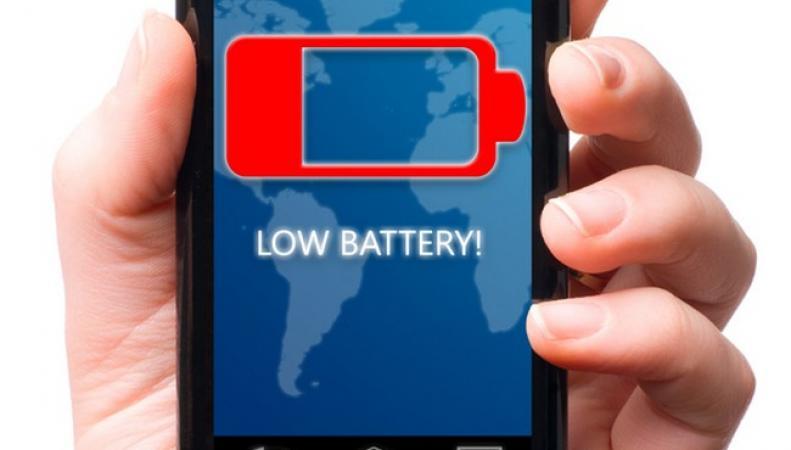 телефон, батарея, низкий заряд