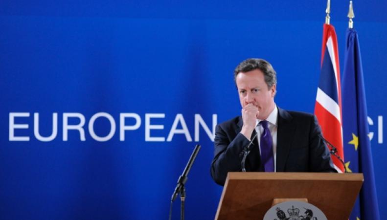 Дэвид Кэмерон на саммите ЕС