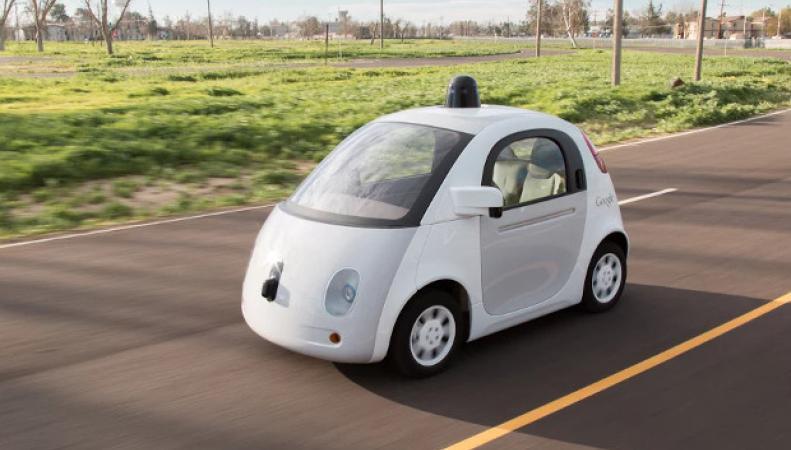 Беспилотный автомобиль Google в США
