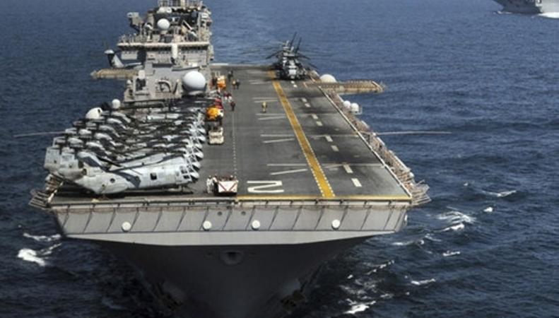 десантный корабль ВМС США