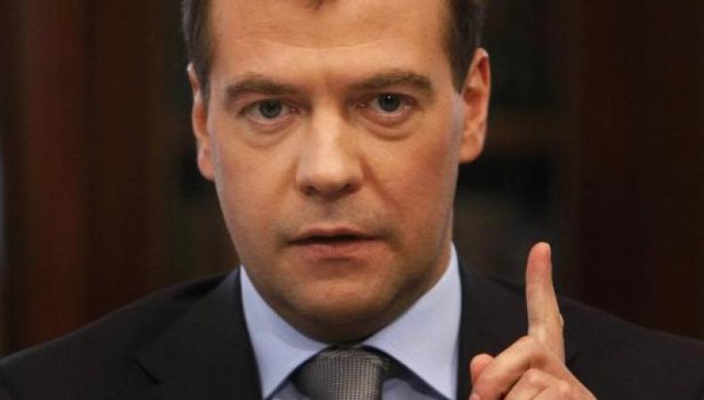 Медведев: переговоры по газу возобновятся только при оплате Украиной хотя бы части долга