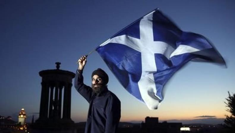 голосование в Шотландии