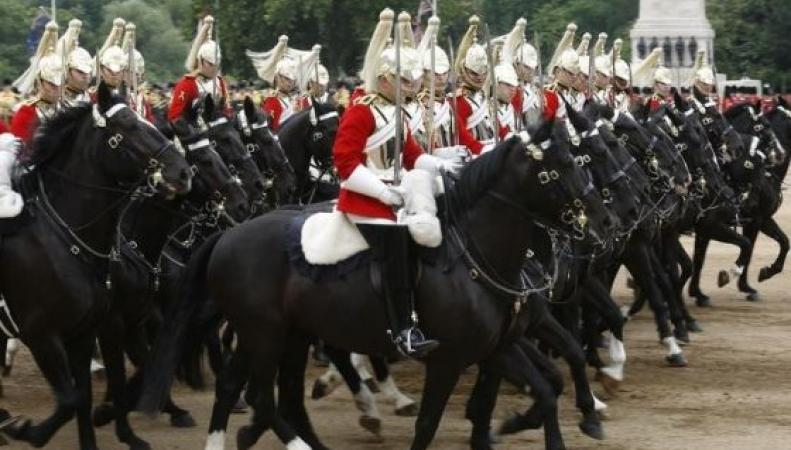 гвардейский караул в Лондоне