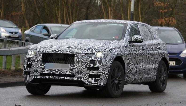 Первый кроссовер Jaguar F-Pace презентуют в сентябре
