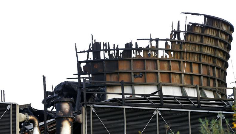 пожар на электростанции Дидкот