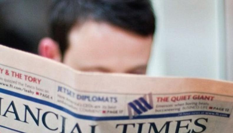 читатель Financial Times