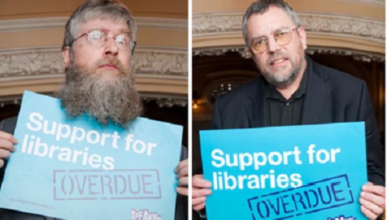 акция протеста против закрытия библиотек