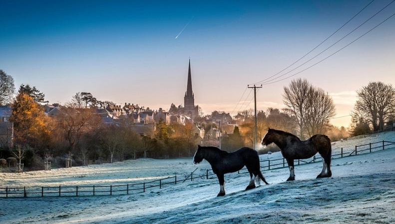 похолодание в Англии и Шотландии
