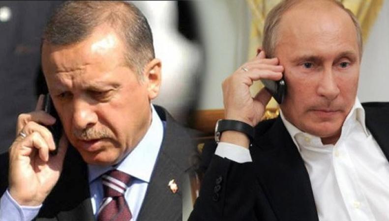 Президент России Владимир Путин и президент Турции Тайип Эрдоган