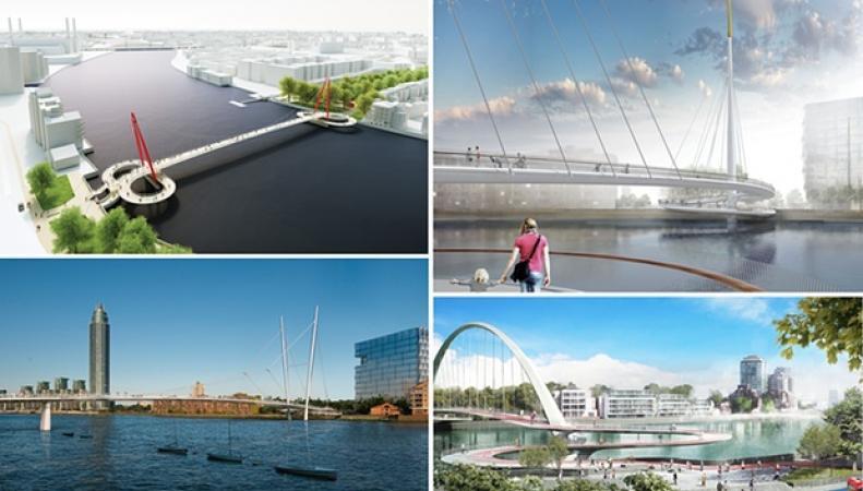 пешеходно-велосипедный мост через Темзу